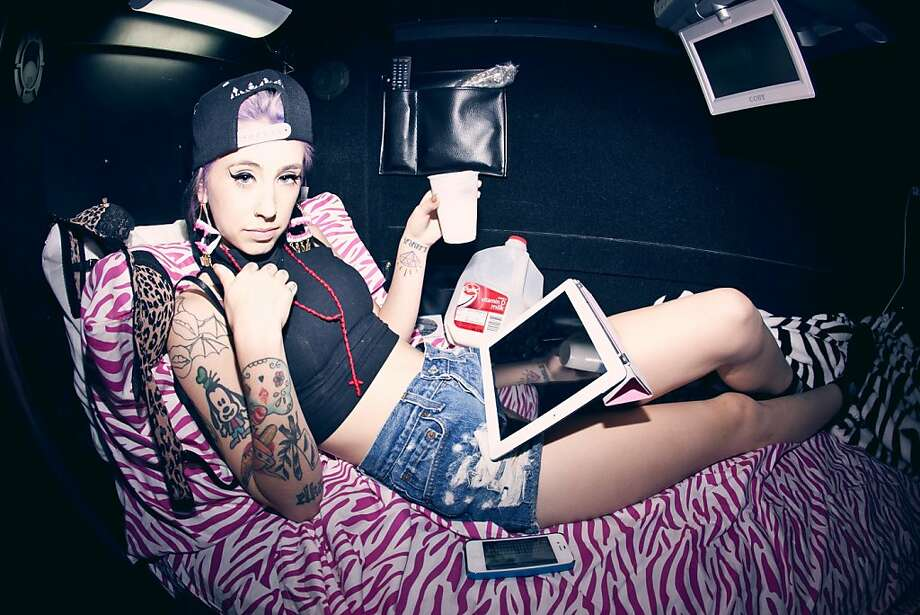 Kreayshawn. Photo: Lady Tragik