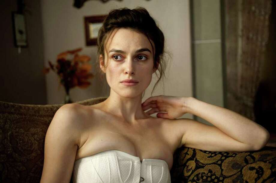 UNCONVINCING: Keira Knightley gives a mediocre performance as a mentally troubled woman in A Dangerous Method.