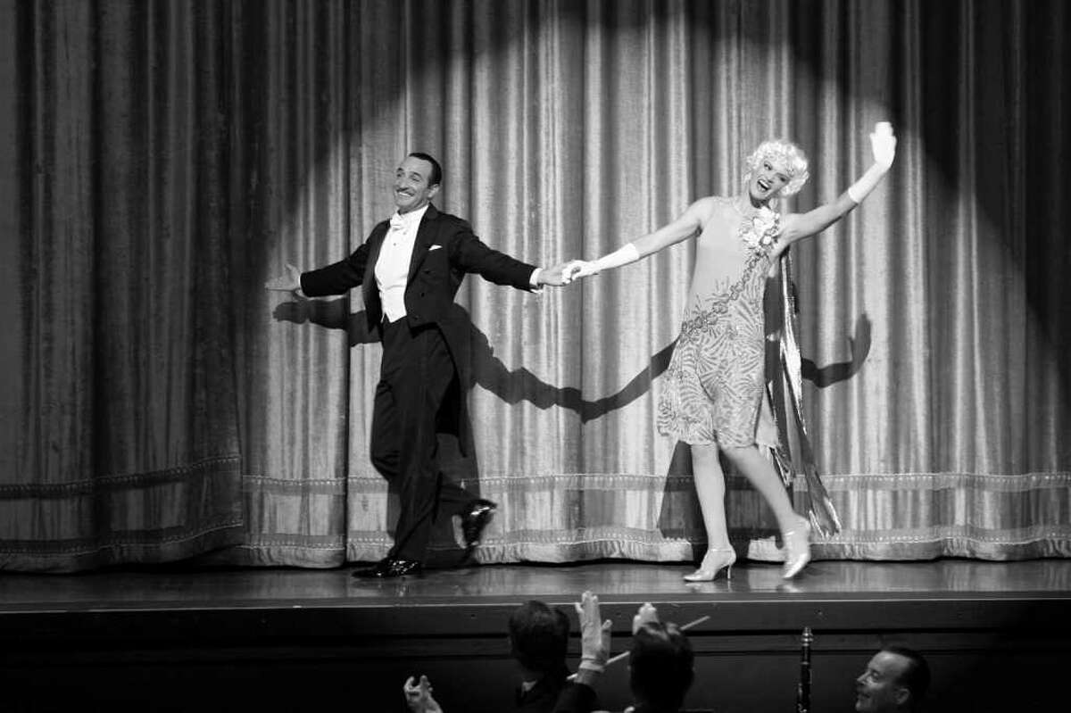 Jean Dujardin as George Valentin and Missi Pyle as Constance in Michel Hazanavicius's film THE ARTIST