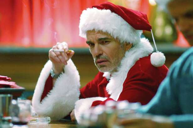 "** FILE ** In this file photo provided by Columbia Tristar, Billy Bob Thornton is shown in the movie ""Bad Santa."" Over the years Santas have ranged from naughty to nice, from Edmund Gwenn's portrayal of Kris Kringle in ""Miracle on 34th Street,"" to Billy Bob Thornton's gutter-mouthed drunk in ""Bad Santa."" The latest incarnation comes courtesy of Paul Giamatti, playing Santa opposite Vince Vaughn as the fat man's black-sheep brother in ""Fred Claus."" (AP Photo/Columbia TriStar)"