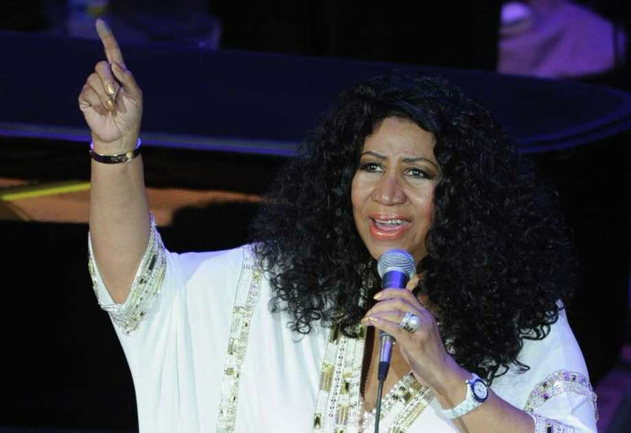As she approaches her 70th birthday, Aretha Franklin says she's adopted a healthier lifestyle that helped her lose 85 pounds. She said the weight loss has led to more dynamic live performances during the past year. Photo: Rick Diamond / 2011 Getty Images