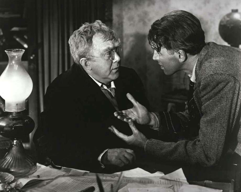 "IT'S A WONDERFUL LIFE -- NBC Theatrical Movie -- Pictured: (l-r) Thomas Mitchell, Jimmy Stewart -- NBC Photo.    HOUCHRON CAPTION (12/24/2002): The Christmas Eve presentation of ``It's a Wonderful Life'' (1946), featuring Thomas Mitchell, left, and James Stewart, begins at 7 tonight on NBC/Channel 2.     HOUCHRON CAPTION (12/07/2003):  Uncle Billy (Thomas Mitchell, left) and George Bailey (James Stewart) face a crisis in ``It's a Wonderful Life'' (1946).  HOUCHRON CAPTION (12/14/2003):  Jimmy Stewart, right, as George Bailey, frantically questions Thomas Mitchell as Uncle Billy about missing money in the Christmas classic ""It's a Wonderful Life.""  ZEST / Classic films offer holiday comfort.    HOUCHRON CAPTION (12/02/2004)  SECPREVIEW: Treat the family to a night out - as in outdoors- at the movies this month. Three classic films will be shown on a 50-by-30-foot screen in downtown's Market Square.    ``It's a Wonderful Life'' (with Thomas Mitchell and Jimmy Stewart, at right) will play Dec. 18. All films will begin at 6 p.m. Free. Call 713-658-8938 or visit www.deda.org. Presented by the Downtown Entertainment District and Blue Moon Cinemas.   On the town. / HANDOUT"