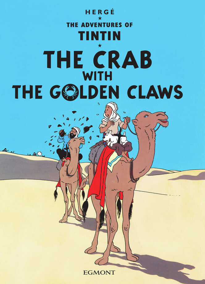 The Adventures of Tintin combines the stories of three Tintin books: The Crab with the Golden Claws, Red Rackham s Treasure and The Secret of the Unicorn. Photo: Herge