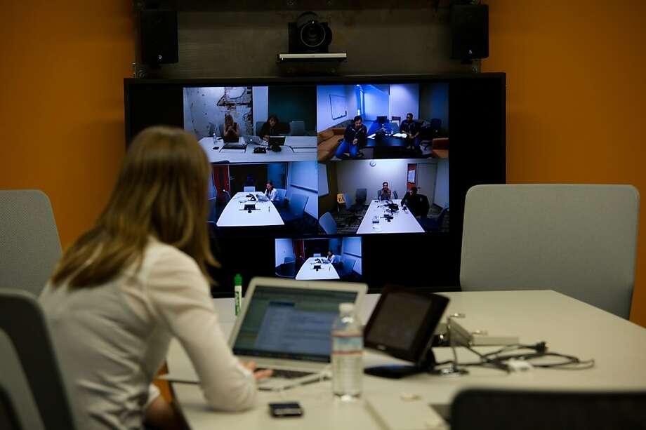 Inside Facebook's New Menlo Park Campus Photo: David Paul Morris, Bloomberg