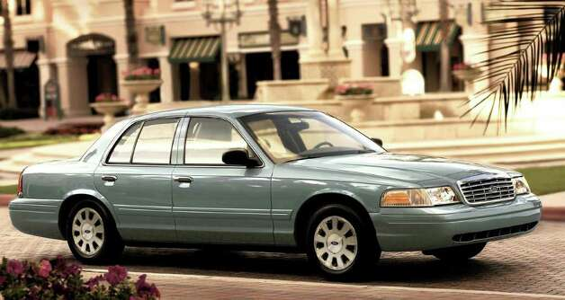 The Ford Crown Victoria is one of the vehicles being discontinued. Photo: Courtesy Of Ford Motor Co., Wieck / © 2006 Ford Motor Company