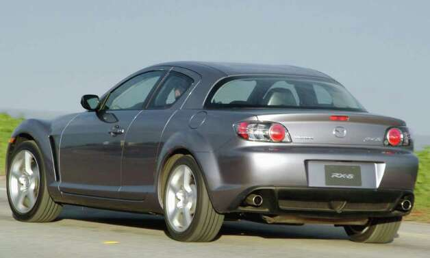 The Mazda RX8 is one of the vehicles being discontinued. Photo: Courtesy Of Mazda