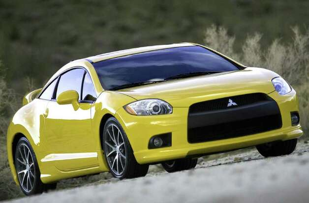 The Mitsubishi Eclipse GT is one of the vehicles being discontinued. Photo: Mitsubishi, Wieck / © 2008 Mitsubishi Motors North America, Inc.