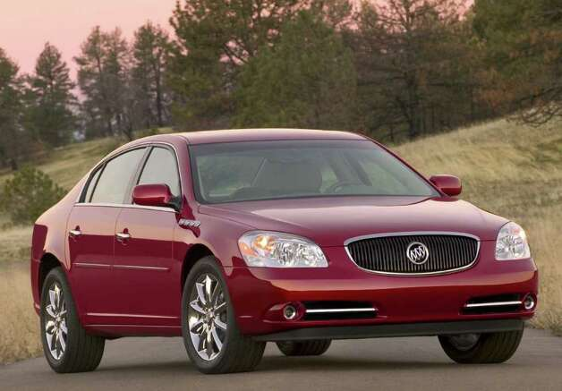 The Buick Lucerne is one of the vehicles being discontinued. Photo: Courtesy Of General Motors