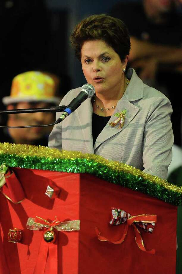 3. Brazilian President Dilma Rousseff. Photo: YASUYOSHI CHIBA / AFP