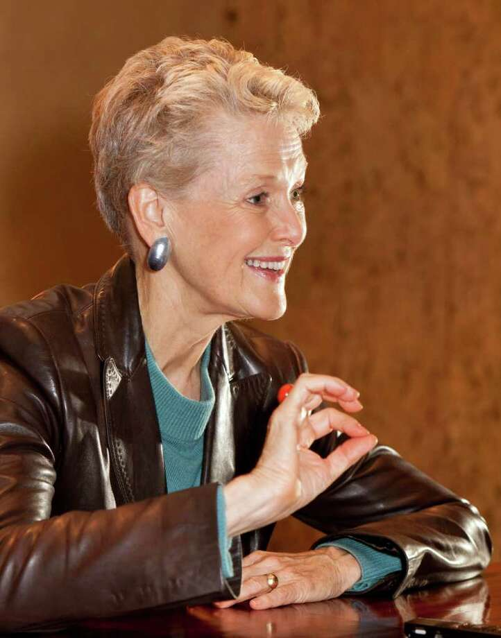 Swanee Hunt served as ambassador to Austria during the Clinton administration, and now lectures at Harvard. Photo: Craig Hartley / Copyright: Craig H. Hartley