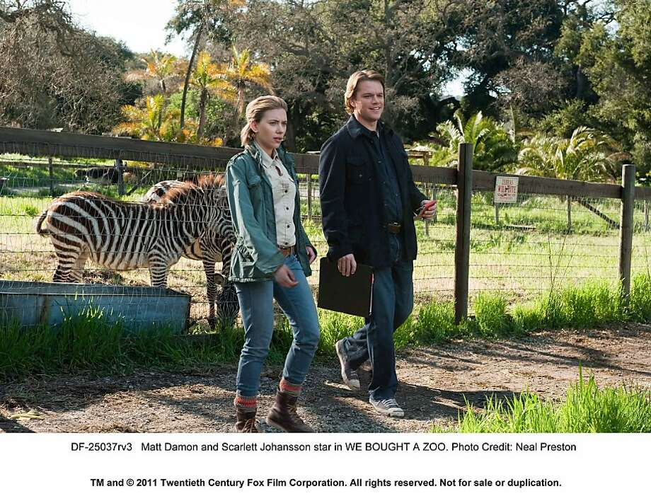 Matt Damon and Scarlett Johansson star in WE BOUGHT A ZOO. Photo: Neal Preston, Twentieth Century Fox
