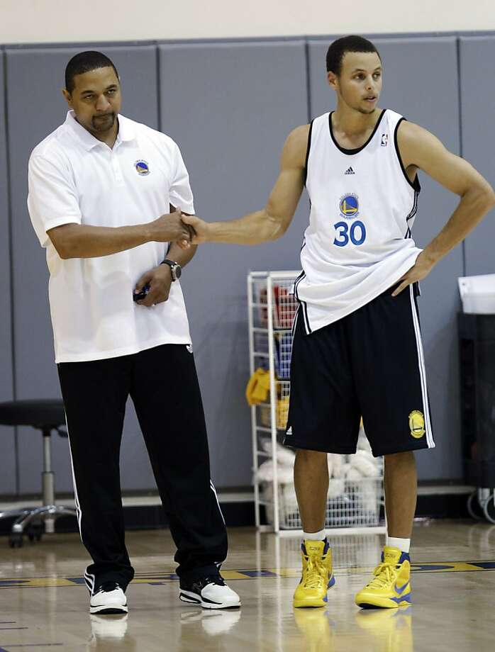 Stephen Curry, Mark Jackson Photo: Paul Sakuma, Associated Press