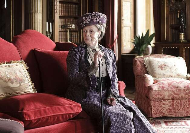 "British actress Maggie Smith in ""Downton Abbey."" Photo: -, Getty"