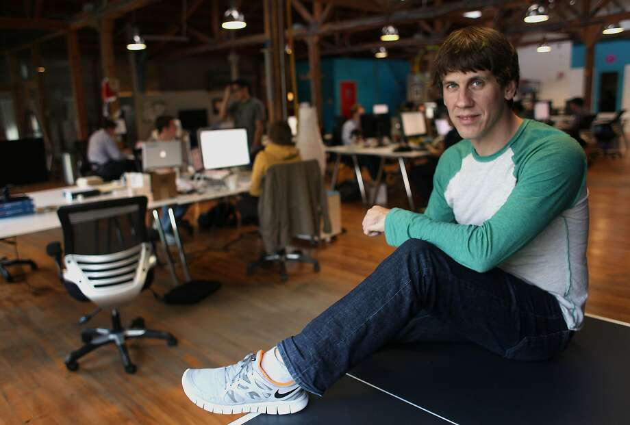 Foursquare founder Dennis Crowley talks about the growth of his company in a one on one interview, Wednesday December 14, 2011, in San Francisco, Calif. Photo: Lacy Atkins, The Chronicle