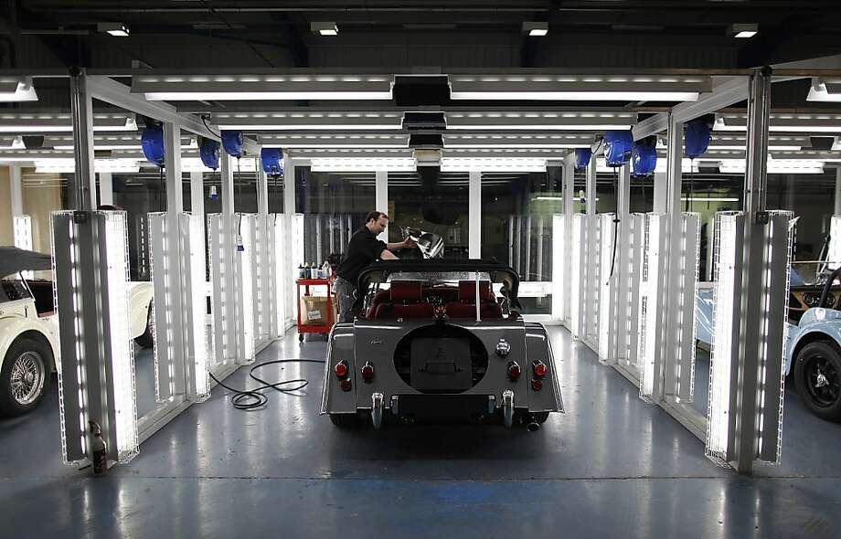 Car Production at the Morgan Motor Company Ltd. Plant Photo: Simon Dawson, Bloomberg