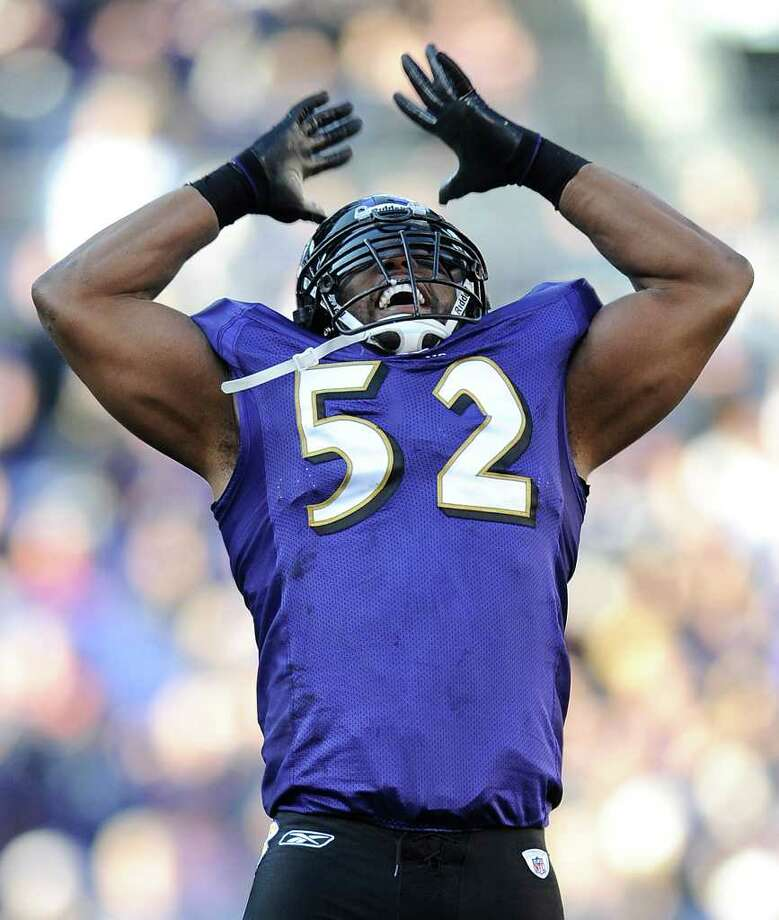 Baltimore Ravens inside linebacker Ray Lewis is set to end his 17-year NFL career. (AP Photo/Nick Wass) Photo: Nick Wass / FR67404 AP