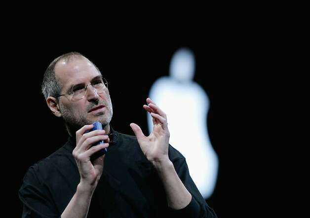 A 1995 interview of Steve Jobs just out on DVD includes him discussing his mid-1980s departure. Photo: Justin Sullivan, Getty