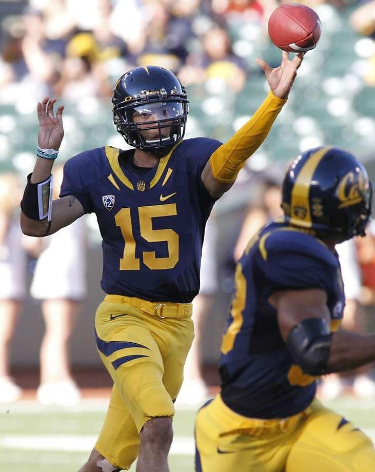 Zach Maynard, Nathan Broussard Photo: George Nikitin, AP