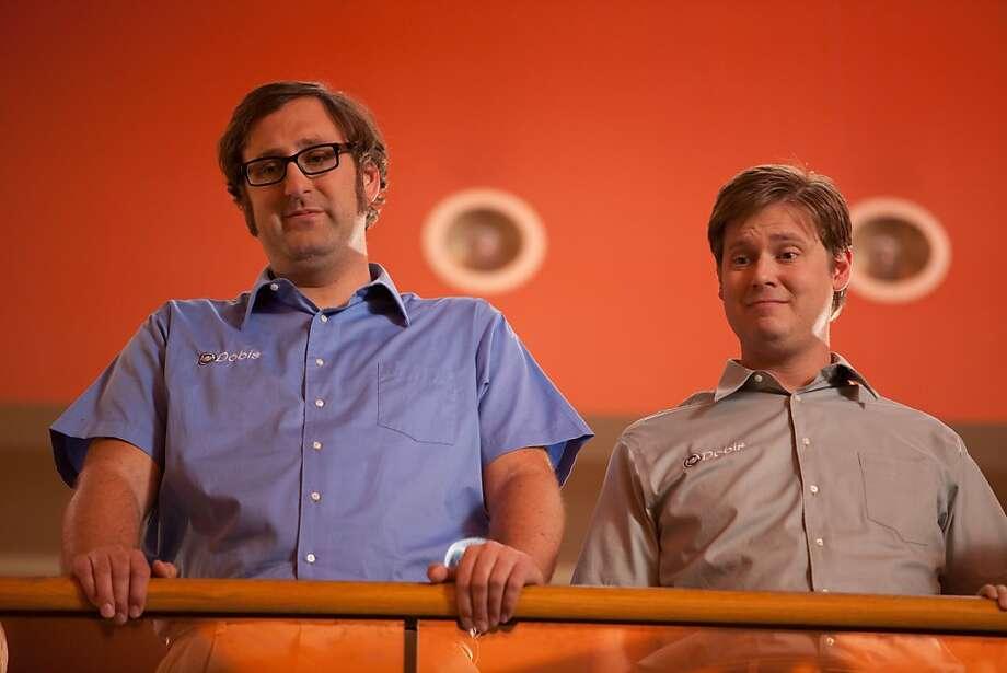 Eric Wareheim and Tim Heidecker in TIM & ERIC S BILLION DOLLAR MOVIE, a Magnet Release. Photo courtesy of Magnet Releasing. Photo: Magnet Releasing