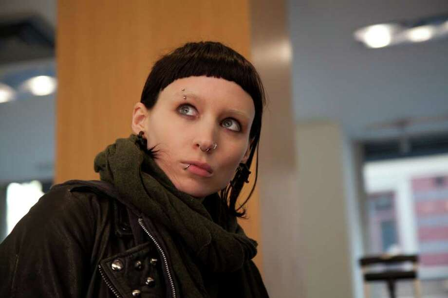 """""""You can do anything to that face,"""" said stylist and costume designer Trish Summerville of actress Rooney Mara. Photo: SONY/COLUMBIA PICTURES / © 2011 Columbia TriStar Marketing Group, Inc. All Rights Reserved."""