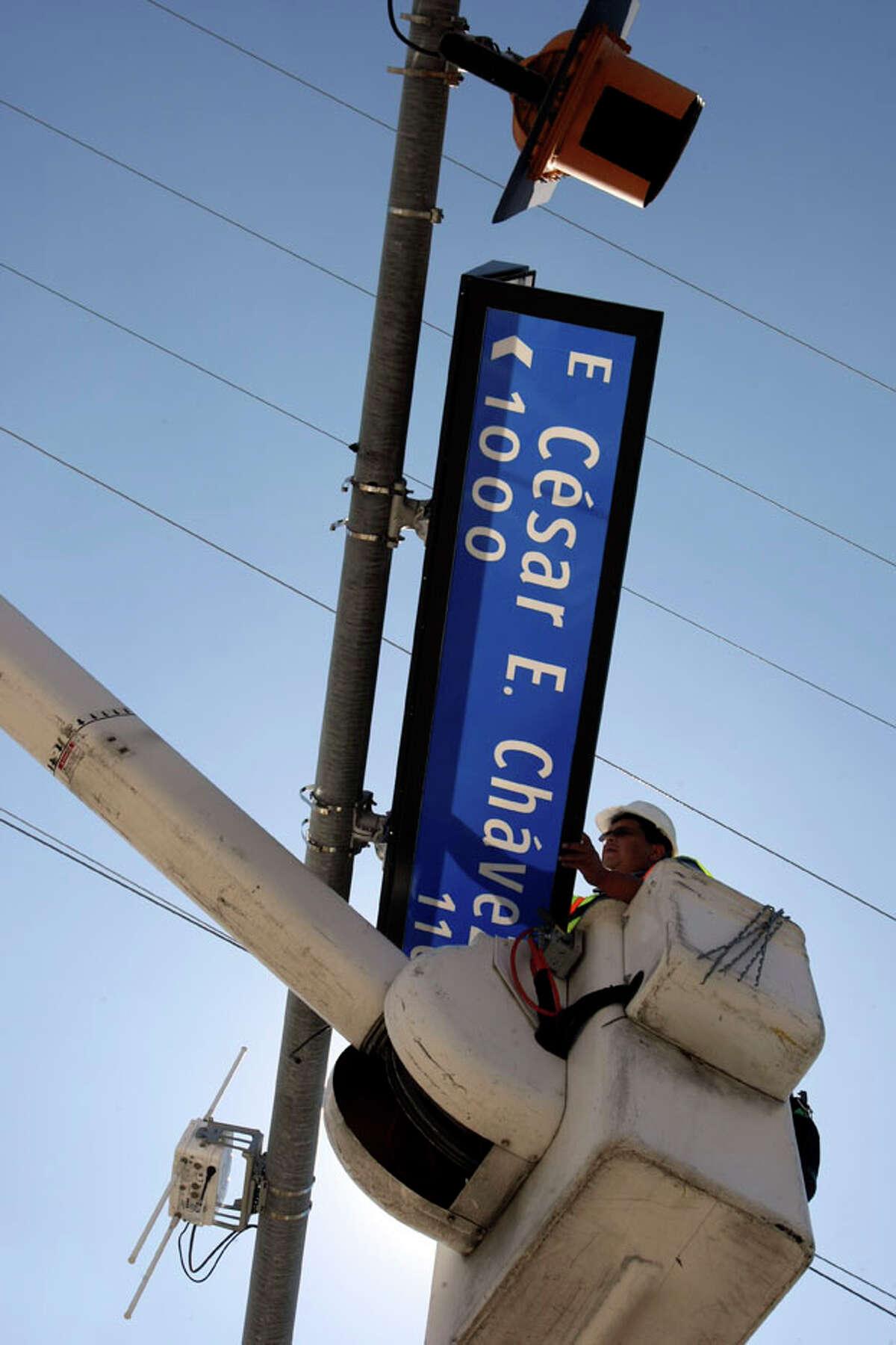 1. Natives might still call Chavez Boulevard