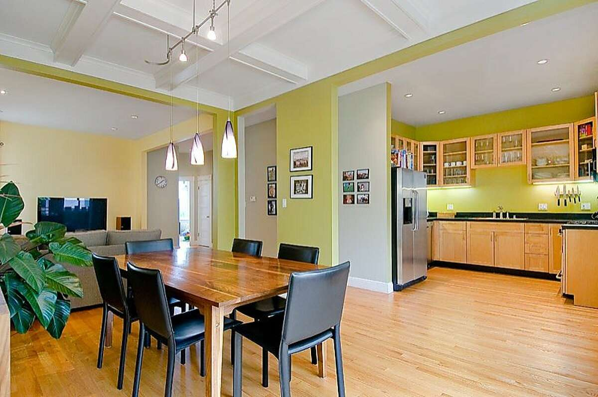 The Noe Valley housing market is hot right now. Here are some examples of properties in the area. This Noe Valley home, on the market in 2011 for $1.199 million, has an open layout and modern appliances that appeal to young buyers.