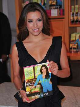 "BEVERLY HILLS, CA - MAY 06:  Actress/author Eva Longoria attends a book signing for her new cookbook ""Eva's Kitchen"" at Williams Sonoma Beverly Hills on May 6, 2011 in Beverly Hills, California.  (Photo by Alberto E. Rodriguez/Getty Images) *** Local Caption *** Eva Longoria; Photo: Alberto E. Rodriguez, Getty Images / 2011 Getty Images"
