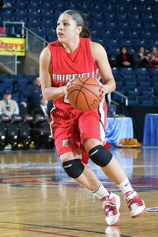 Fairfield senior guard Desiree Pina, who grew up in Plainfield, is looking forward to facing No. 2 UConn on Thursday. Photo: Contributed Photo