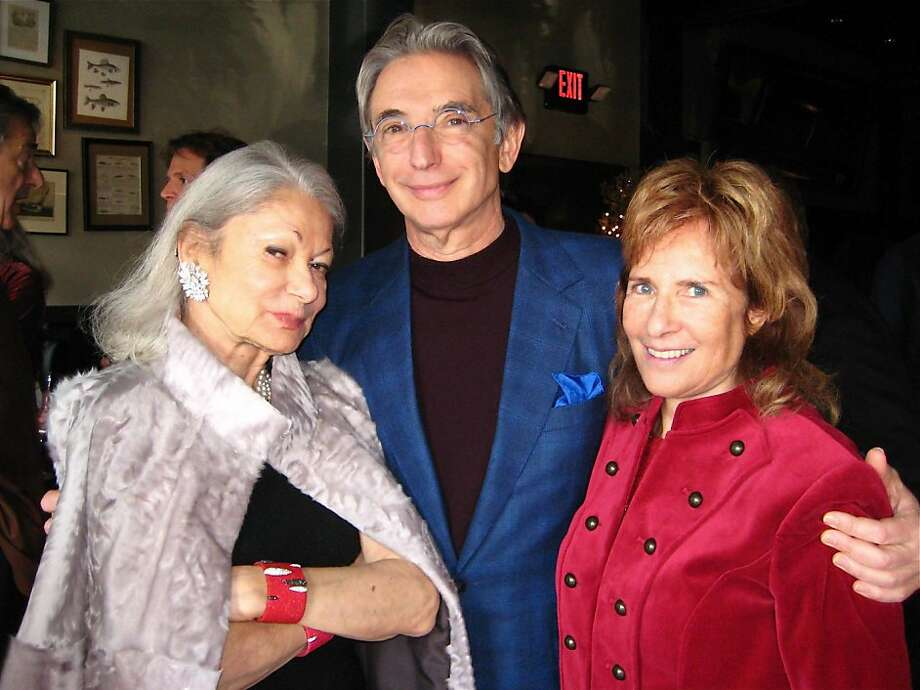Denise Hale, an international jet-setter and force of nature, at a surprise sendofflunch which was held at Boulevard restaurant and attended by 24 friends, including state, Symphony conductor Michael Tilson Thomas and Delancey Street founder Mimi Silbert. Photo: Catherine Bigelow, Special To The Chronicle
