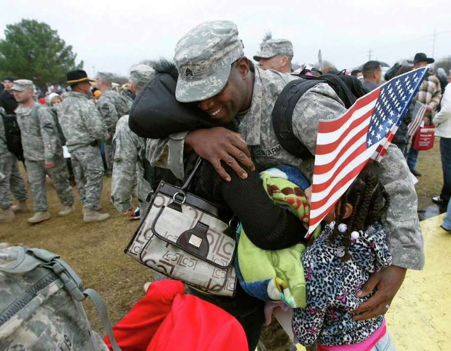 Who: Army Sgt. Howard Acoff. Where: Fort Hood.