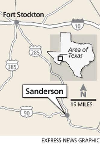 Railroad station nears the end of the line - San Antonio ... on powell tx map, shepherd tx map, robert lee tx map, palmer tx map, mason tx map, henderson tx map, clarksville tx map, mansfield tx map, vernon tx map, anderson tx map, orange tx map, tuleta tx map, sheffield tx map, anthony tx map, andrews tx map, san isidro tx map, greenville tx map, uvalde tx map, snyder tx map, balmorhea tx map,