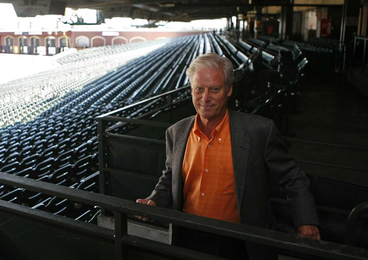 Peter Magowan, President of the San Francisco Giants on May 16, 2008. Photo by Deanne Fitzmaurice / San Francisco Chronicle