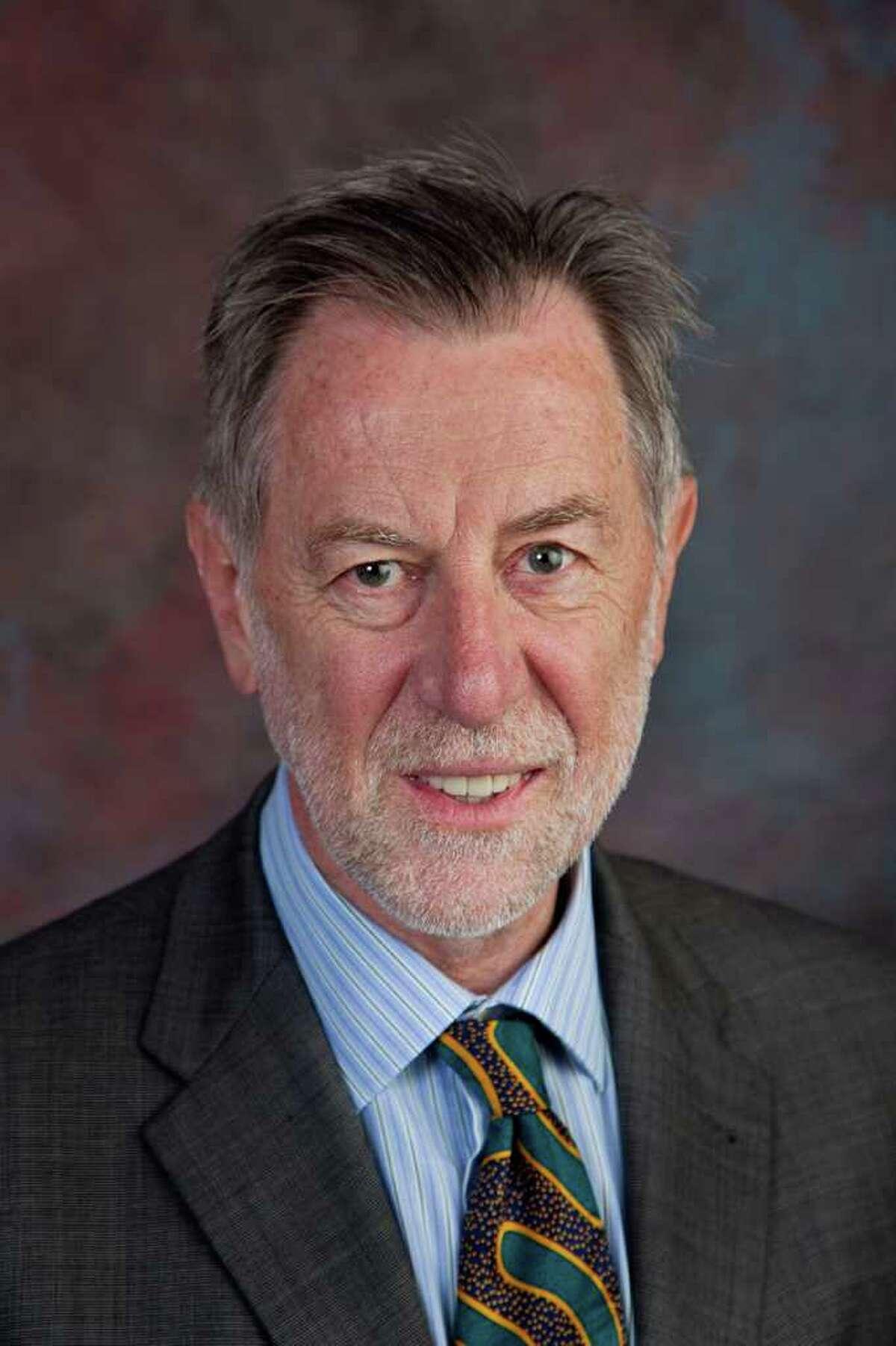 Dennis Ahlburg is president of Trinity University