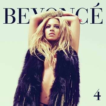 "In this CD cover image released by Columbia Records, the latest release by Beyonce, ""4,"" is shown. (AP Photo/Columbia Records) Photo: Anonymous"