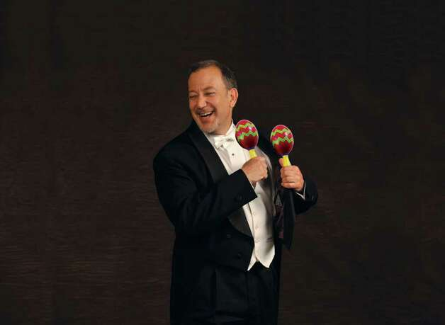 David Griggs-Janower in publicity photo from Albany Pro Musica Photo: GOLD