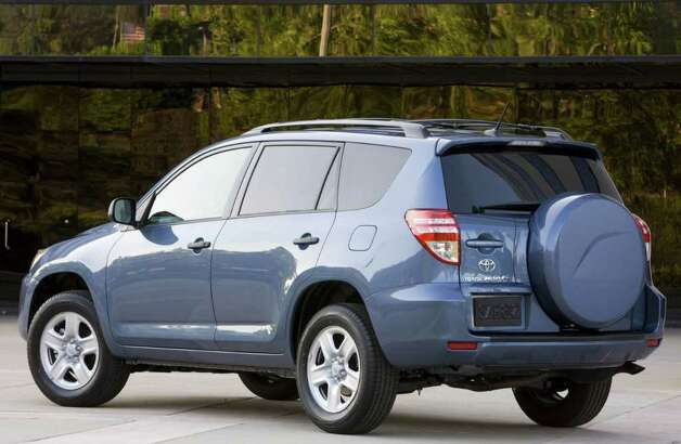 Gasoline-powered models of the 2012 Toyota RAV4 begin at $22,650 and range as high as $28,650. COURTESY OF TOYOTA MOTOR SALES U.S.A. Photo: Toyota Motor Sales U.S.A., COURTESY OF TOYOTA MOTOR SALES U.S.A.