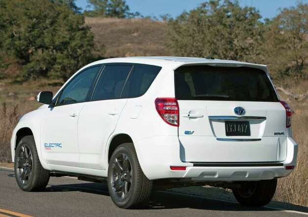 Toyota plans to bring the second generation of its RAV4 Electric vehicle to market sometime in 2012, in partnership with U.S. electric-vehicle maker Tesla. COURTESY OF TOYOTA MOTOR SALES U.S.A. Photo: Toyota Motor Sales U.S.A., COURTESY OF TOYOTA MOTOR SALES U.S.A.
