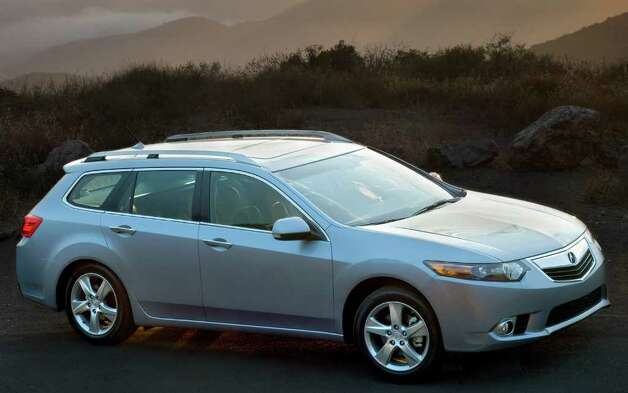 The Acura TSX Sport Wagon comes with a 201-horsepower four-cylinder engine and five-speed automatic transmission. COURTESY OF AMERICAN HONDA MOTOR CO. Photo: America Honda Motor Co., COURTESY OF AMERICAN HONDA MOTOR CO. / Acura