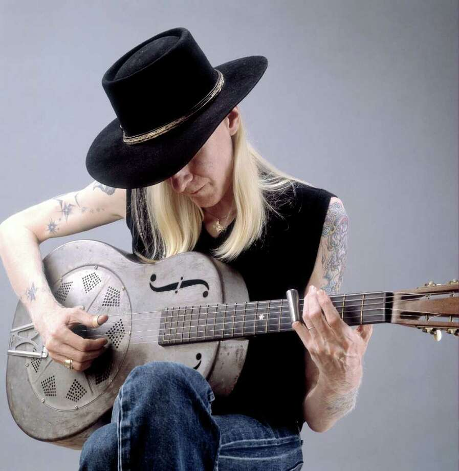 image of blues legend Johnny Winter Photo: Paul Natkin, Getty Images / 2003 Getty Images