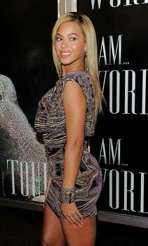 "NEW YORK - NOVEMBER 21:  Singer Beyonce Knowles attends a screening of ""I AM...World Tour"" at the School of Visual Arts Theater on November 21, 2010 in New York City. Photo: Jemal Countess, Getty Images / Getty Images North America"