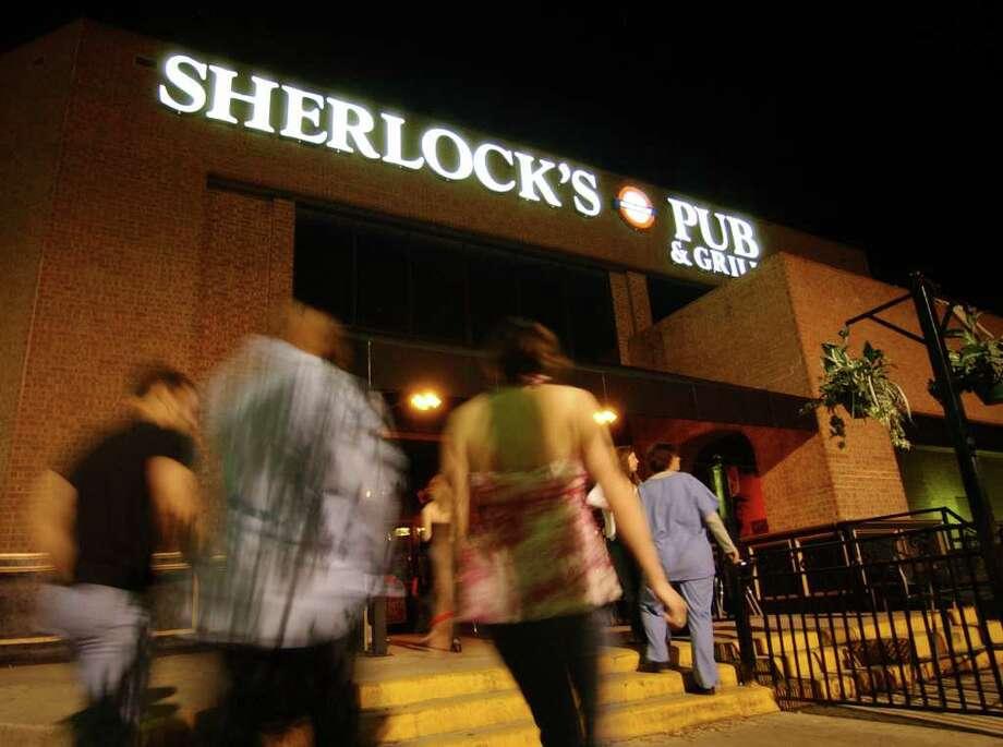 Sherlock's Baker St. Pub & Grill, 16620 U.S. 281, www.sherlockspubco.com Photo: EDWARD A. ORNELAS, SAN ANTONIO EXPRESS-NEWS / SAN ANTONIO EXPRESS-NEWS