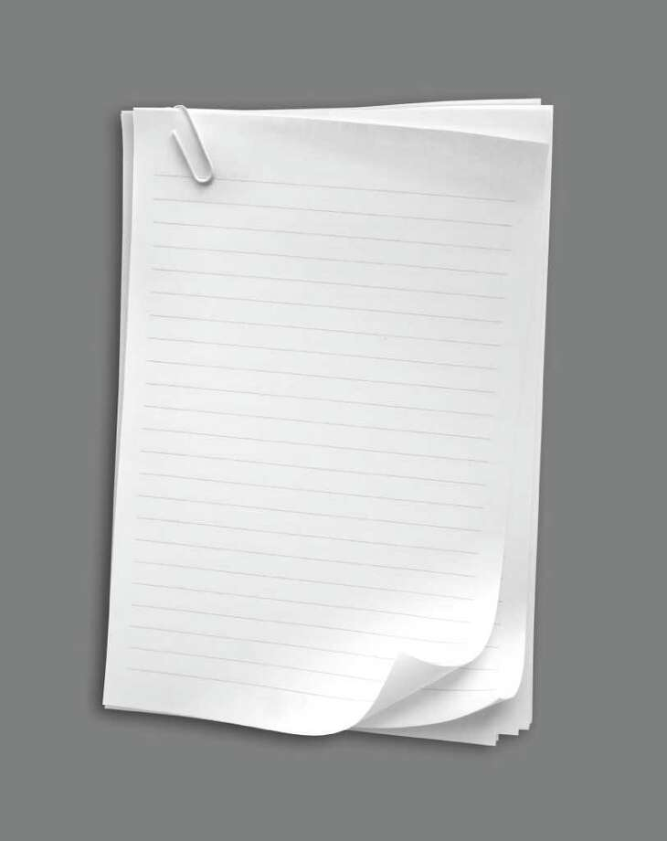Note paper on gradient background -  fotolia photo  WHITE NOTEBOOK PAPER WITH PAPERCLIP Photo: Janaka Dharmasena / handout / stock agency