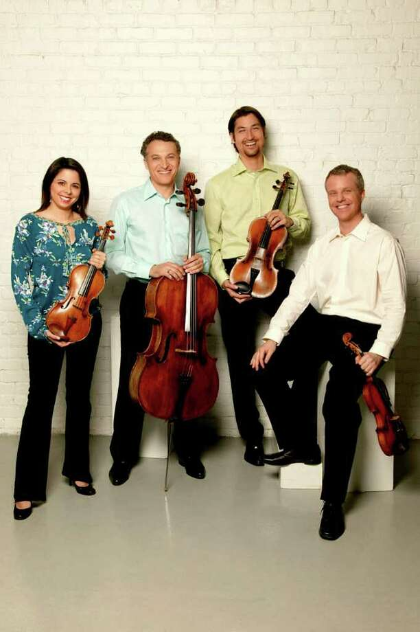 The Grammy Award-winning Pacifica Quartet performs Sunday, Jan. 8, at the Regina A. Quick Center for the Arts in Fairfield. Photo: Contributed Photo