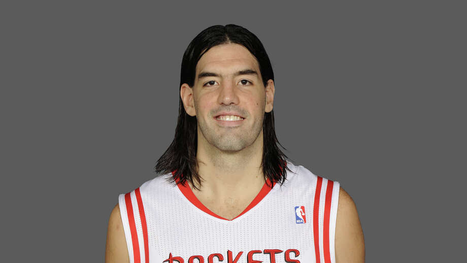 Luis Scola Houston Rockets  2010 NBA photo