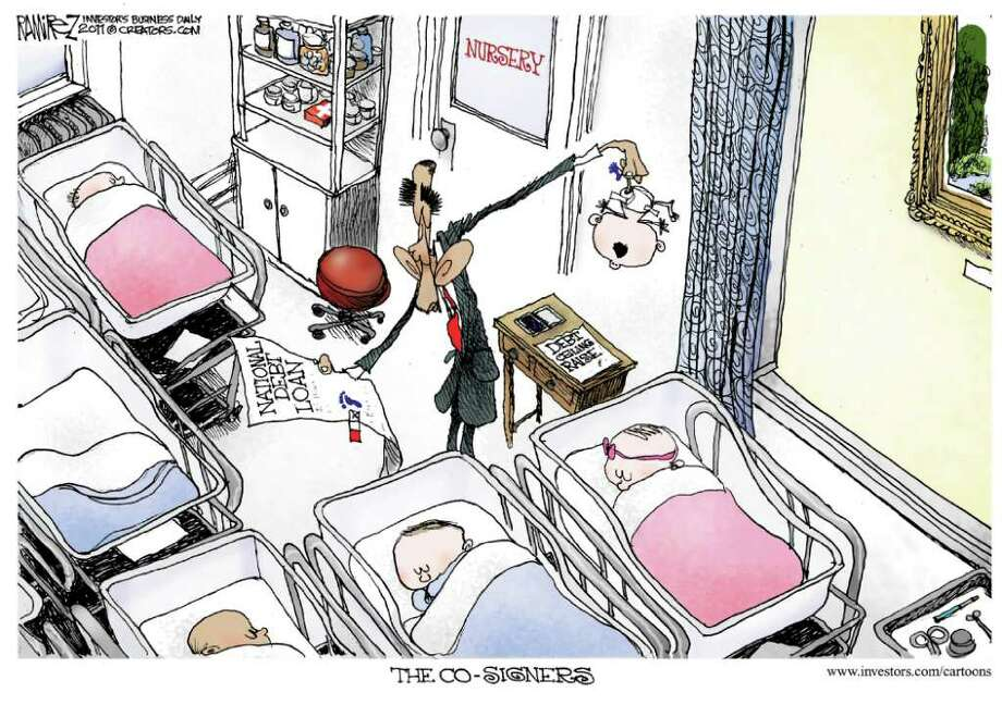 Photo: Investor's Business Daily, Michael Ramirez