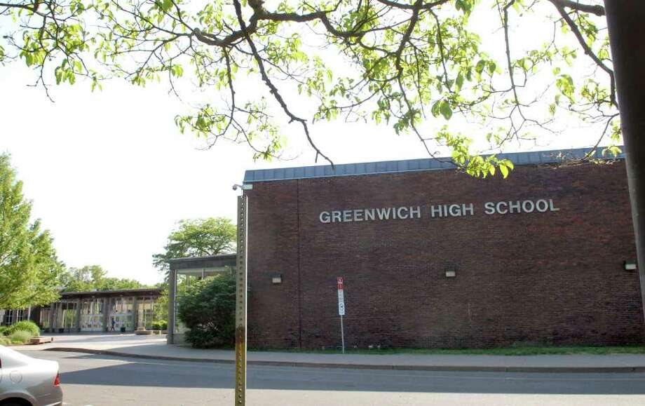 Greenwich High School. Photo: Bob Luckey, GT / Greenwich Time