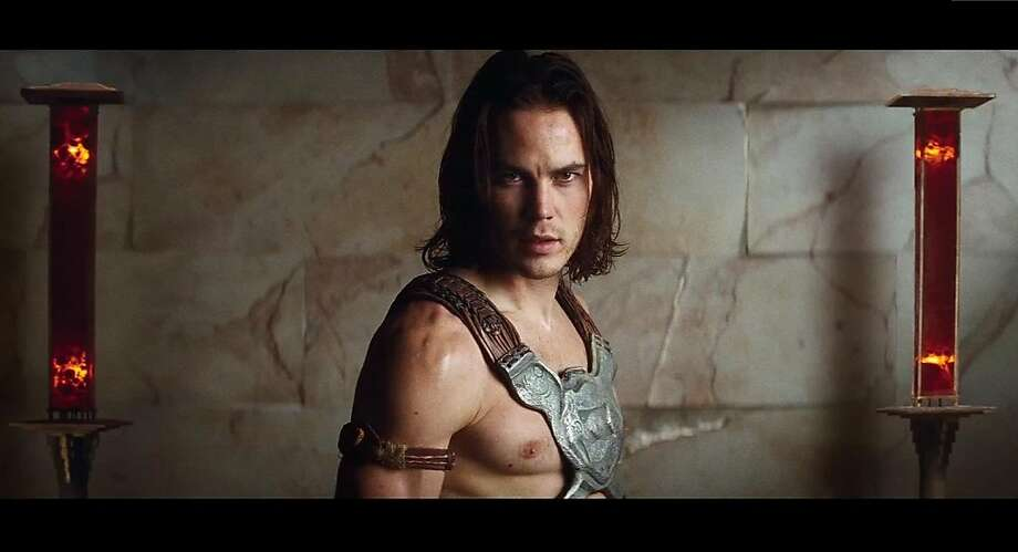 "Taylor Kitsch as the title character in ""John Carter."" Photo: Walt Disney"