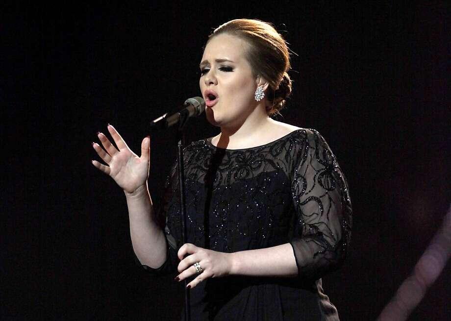 Adele Photo: Joel Ryan, Associated Press