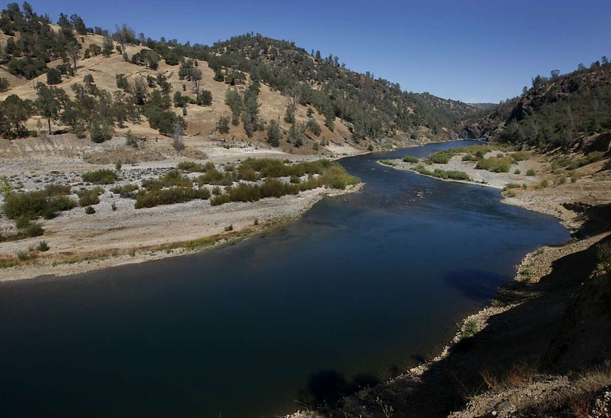 The Yuba River flows through the Excelsior property in Smartsville, Calif., on Thursday, Oct. 1, 2009. The Trust for Public Land is acquiring several hundred acres of private land and will eventually transfer it to public open space.