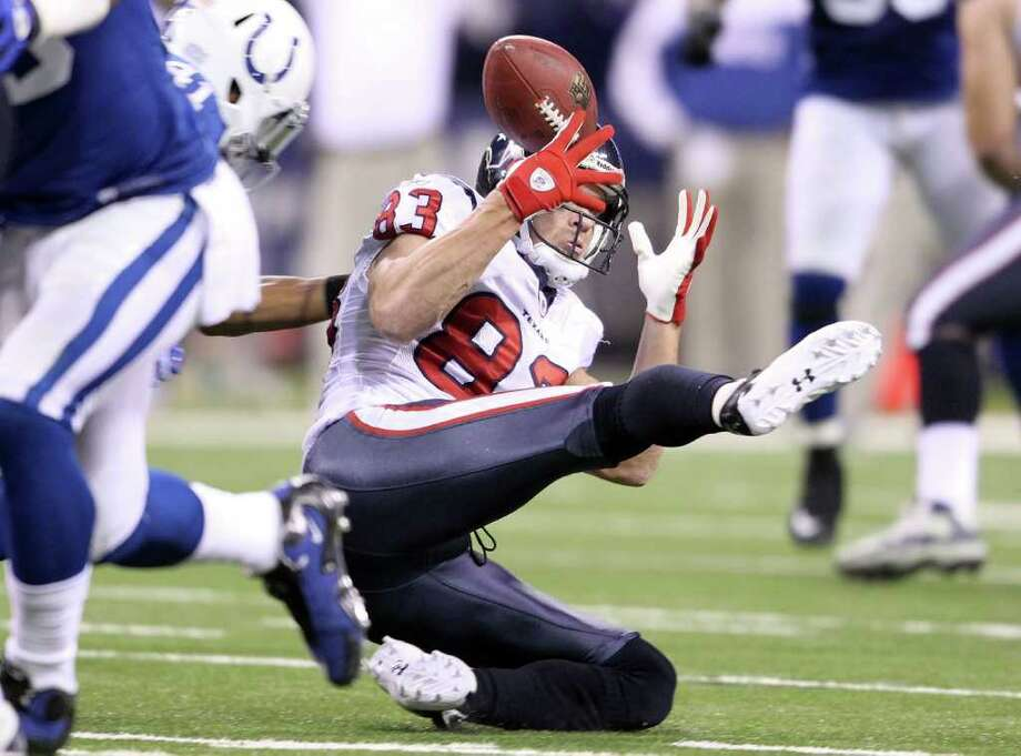 Kevin Walter and the Texans have stumbled of late. Photo: Andy Lyons, Getty Images / 2011 Getty Images